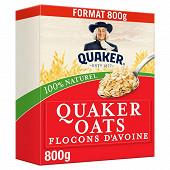 Quaker oats flocons d'avoine format familial 800g