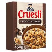 Quaker cruesli choccolat noir 450g