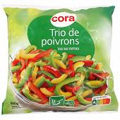Cora trio de poivrons 600 g
