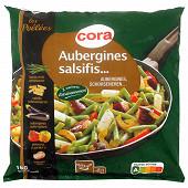Cora poêlée de légumes haricots verts, salsifis, aubergines préfrites, poivrons et oignon 1kg