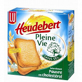 Lu Heudebert biscottes pleine vie sans sel 300g