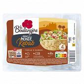 La Boulangère 4 pains du monde kebab 320g
