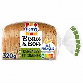 Harrys Beau & bon pain de mie farine de blé céréales & graines 320g
