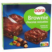 Cora brownie chocolat et noisettes 285g