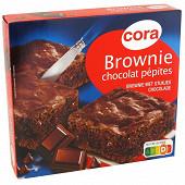 Cora brownie chocolat et pépites de chocolat 285g