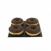 Donuts chocolat x4