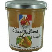 Les recettes cuites au chaudron poires williams à la vannile 320g