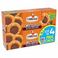 St michel galettes au bon chocolat lot de 4 prix choc 484g