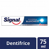 Signal dentifrice système blancheur 75 ml