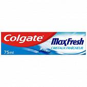 Colgate dentifrice maxfresh cristaux fraicheur 75ml