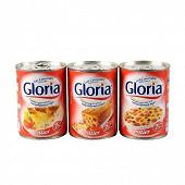 Gloria lait entier concentré non sucré 7,5% mat.gr 3x410g