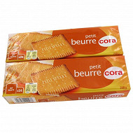 Cora petit beurre 2 x 200g