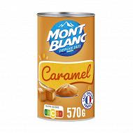 Mont Blanc crème dessert caramel 570g