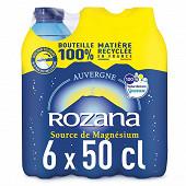 Rozana eau minerale naturellement gazeuse 6x50cl