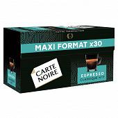 Carte Noire capsules espresso classique N7 maxi format 159g