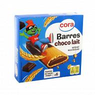 Cora kido barres indivuelles chocolat lait 125g