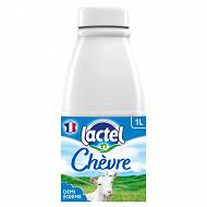 Lactel lait de chèvre demi-écrémé 1l