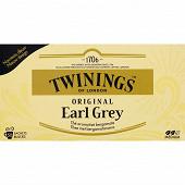 Twinings original earl grey 50 sachets 100g