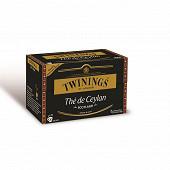 Twinings thé de Ceylan scotland 20 sachets 40g