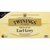 Twinings original earl grey 25 sachets 50g