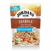 Jordans granola noisiette & graines - 5% sucres 400g