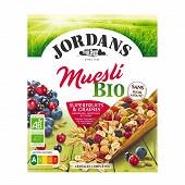 Jordans muesli bio superfruits et graines 450g