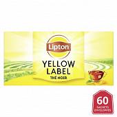 Lipton yellow label tea 60 sachets 12g