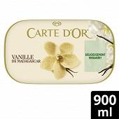 Carte d'Or bac crème glacée vanille 900 ml - 472g