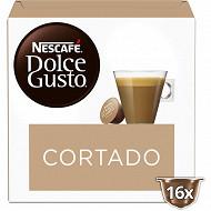 Nescafé Dolce Gusto Espresso macchiato cortado, capsule café - x16 dosettes