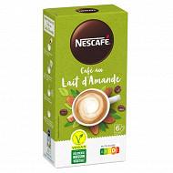 Nescafé café au lait d'amande - 6 Sticks - 96g