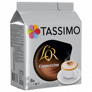 Tassimo l'or cafe cappuccino x8 267g