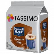 Tassimo maxwell house cappucchoco x8 208g