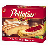 Lu pelletier grandes tranches froment x22 455g