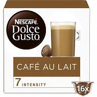 Nescafé Dolce Gusto Café au lait, capsule café - x16 dosettes