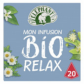Eléphant infusion bio relax x20 26g