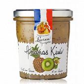 Les recettes cuites au chaudron preparation ananas kiwis 320g