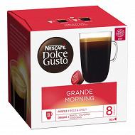 Nescafé dg caps grande morning 16 dosettes 160 g