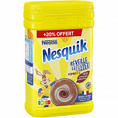 Nesquik boite plastique 1kg + 20% offert