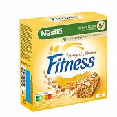 Fitness barres miel amandes 6x23.5g - 141g