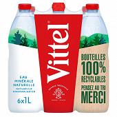 Vittel eau minérale naturelle 6x1L