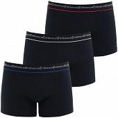 Lot de 3 boxers Business Eminence 2010 NOIR/NOIR/NOIR T8