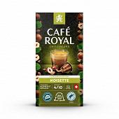 Café Royal capsules aluminium noisette type nespresso x10 50g