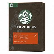 Starbucks by Nespresso - Colombia, capsule café intensité 7 - x18