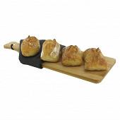 Petits pains de tradition française Cora Dégustation x4