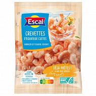 Escal queues de crevettes cuites décortiquées ASC 300g