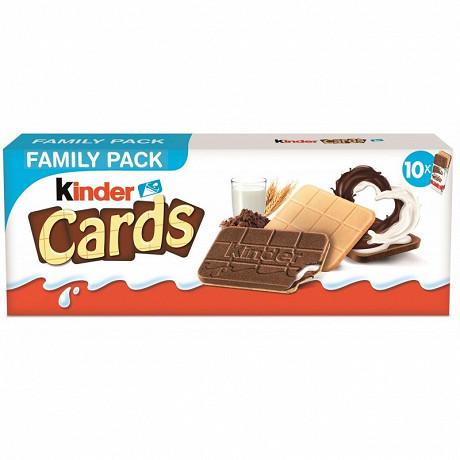 Kinder cards 2x10 256g