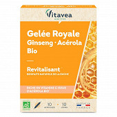 Vitavea nectar royal revitalisant bio 10 ampoules 100ml