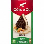 Côte d'or noir pâte d amande 150g