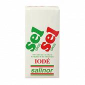 Salinor étui carton sel gros 1kg