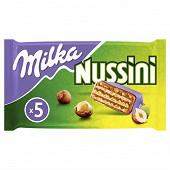 Milka barres nussini 5x31.5g